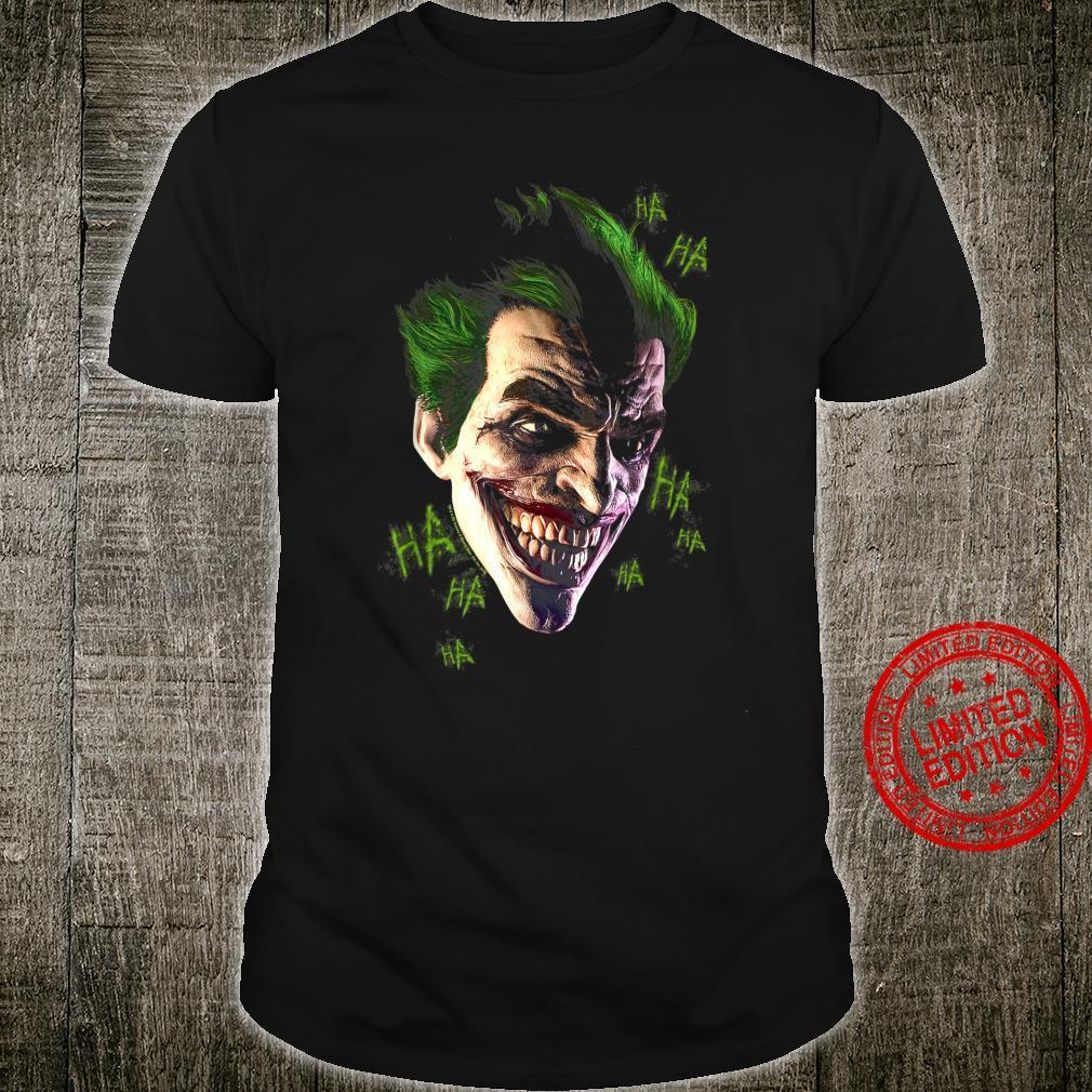 Batman Arkham Origins Joker Grim Shirt