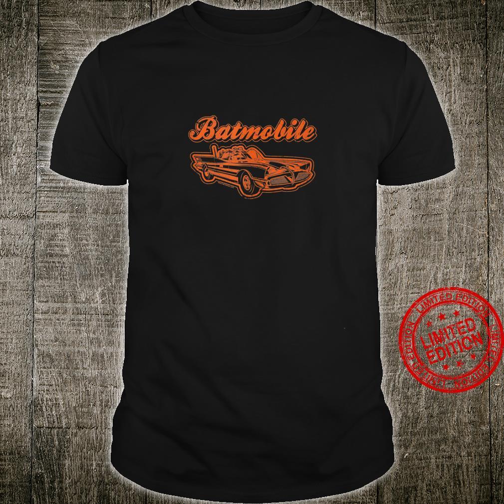 Batman Batmobile Classic Car Shirt