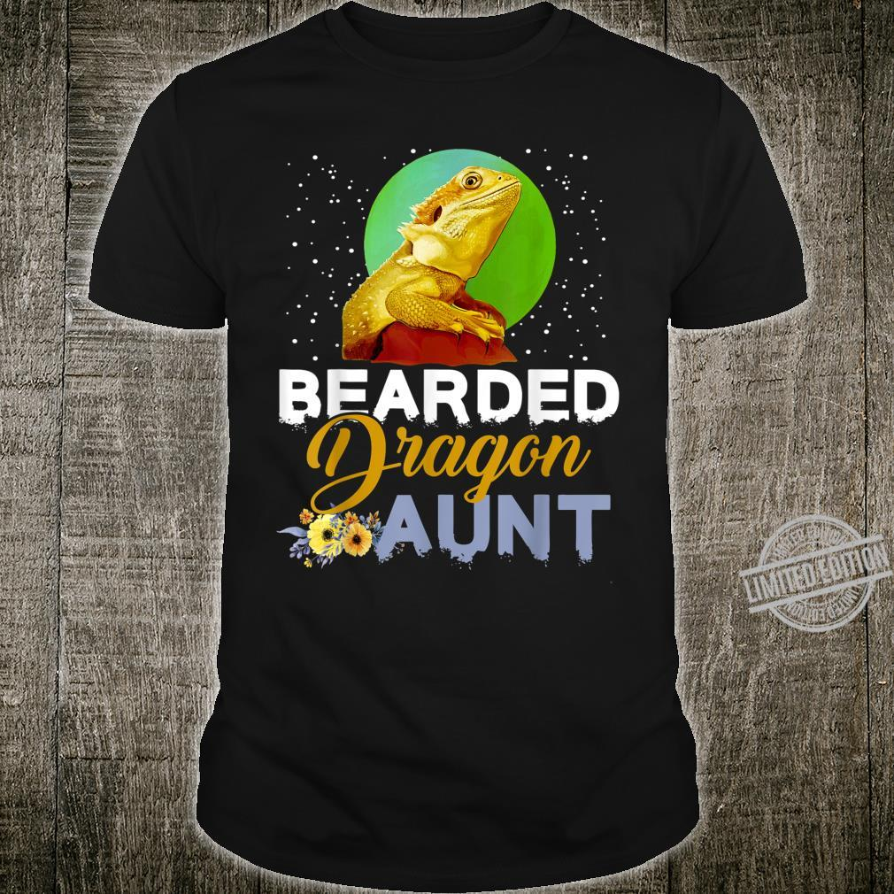 Bearded Dragon Aunt Lizards Tapestry Shirt