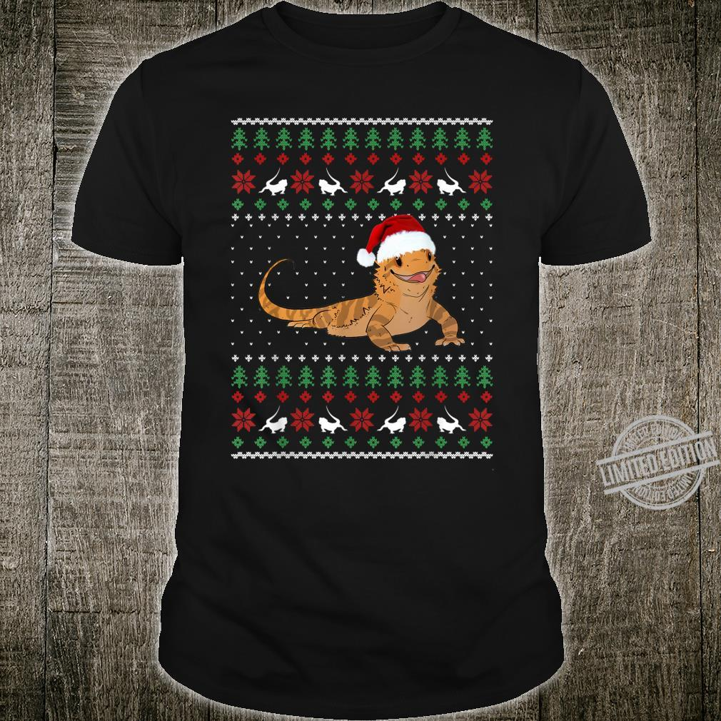 Bearded Dragon Ugly Christmas Shirt