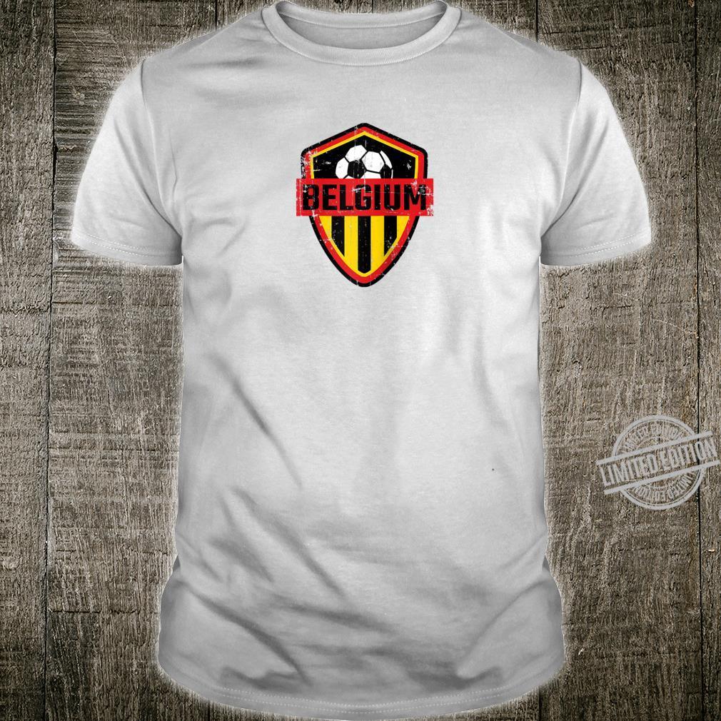 Belgium Soccer Jersey Style United Football Shirt