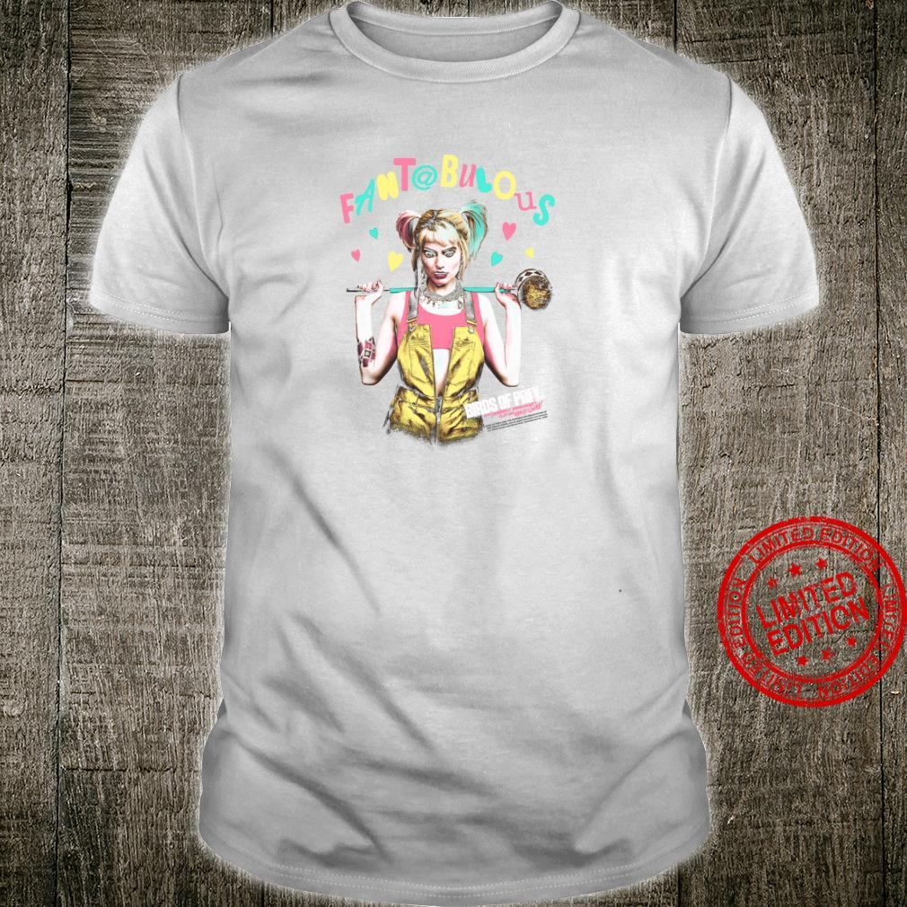 Birds of Prey Harley Quinn Fantabulous Shirt