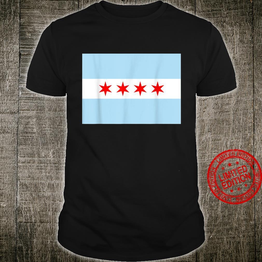Chicago Flag Illinois City State Pride Shirt