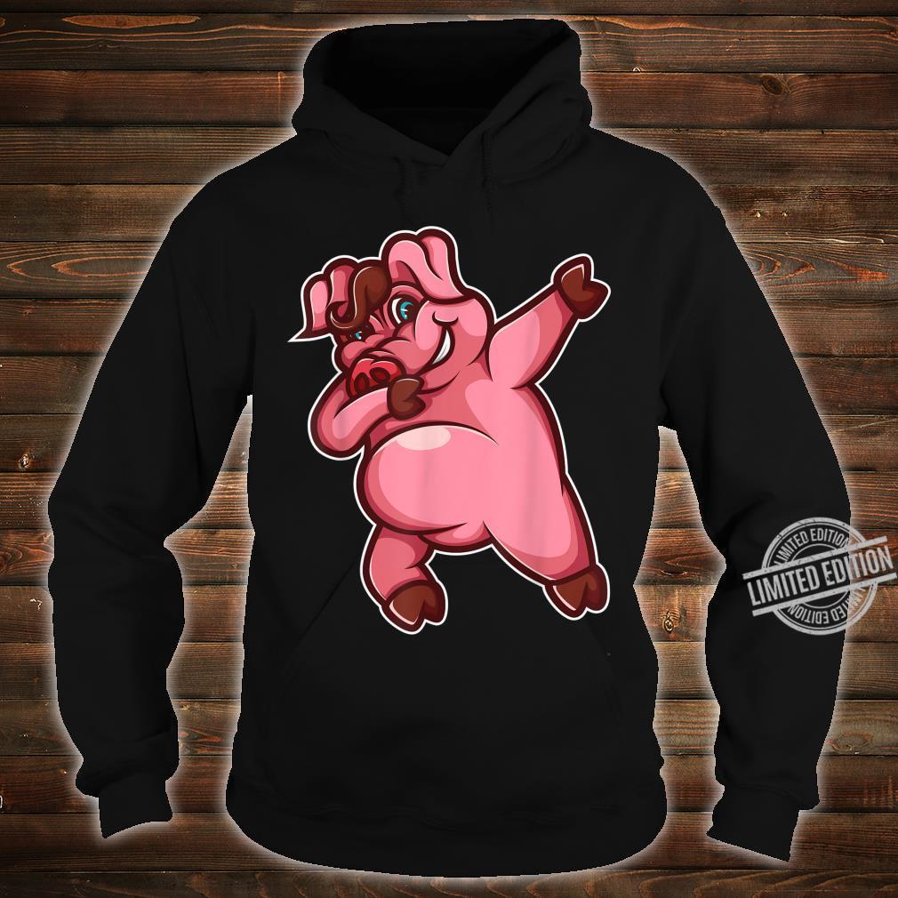 Cool Dabbing Pig Hiphop Boar Dancing Hog Pet Shirt hoodie