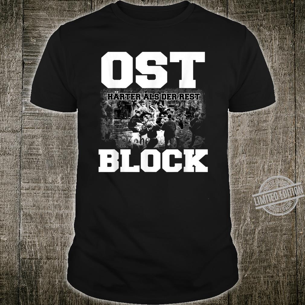 Cooles Ostblock Fußball DDR Osten Ossi Design Ostdeutschland Shirt