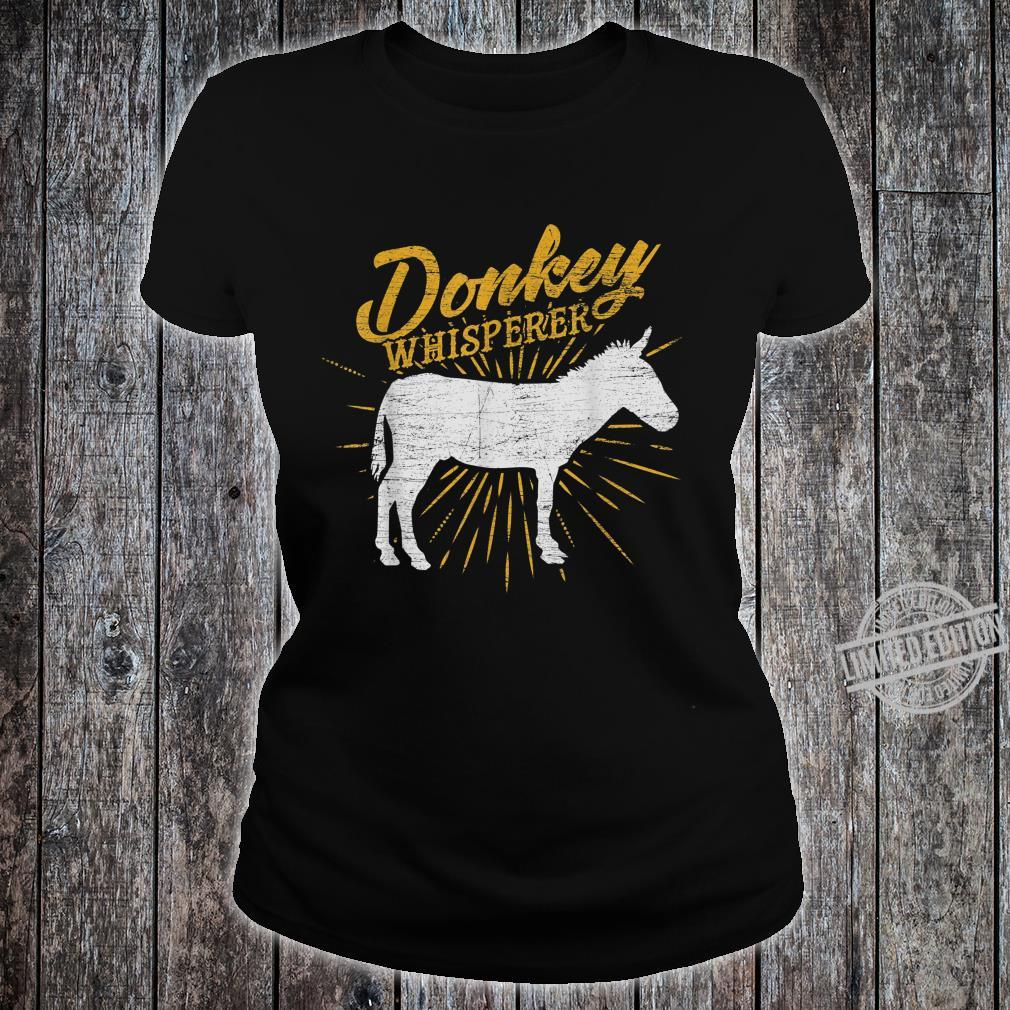 Donkey Whisperer Shirt ladies tee