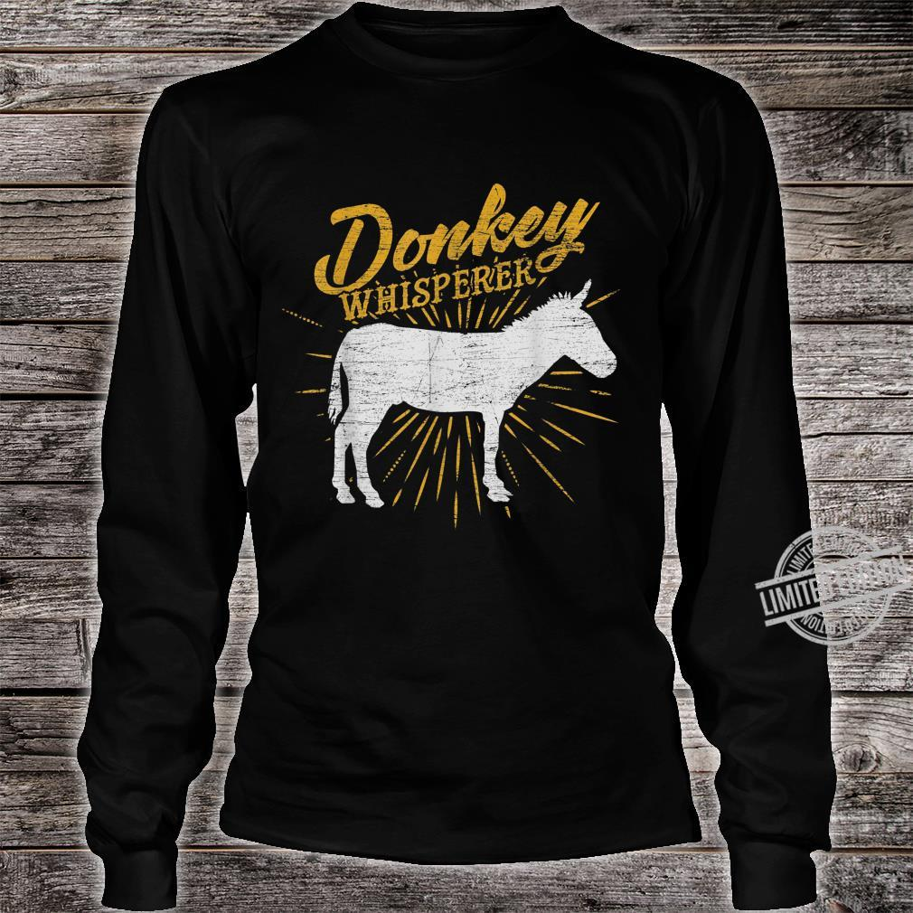 Donkey Whisperer Shirt long sleeved
