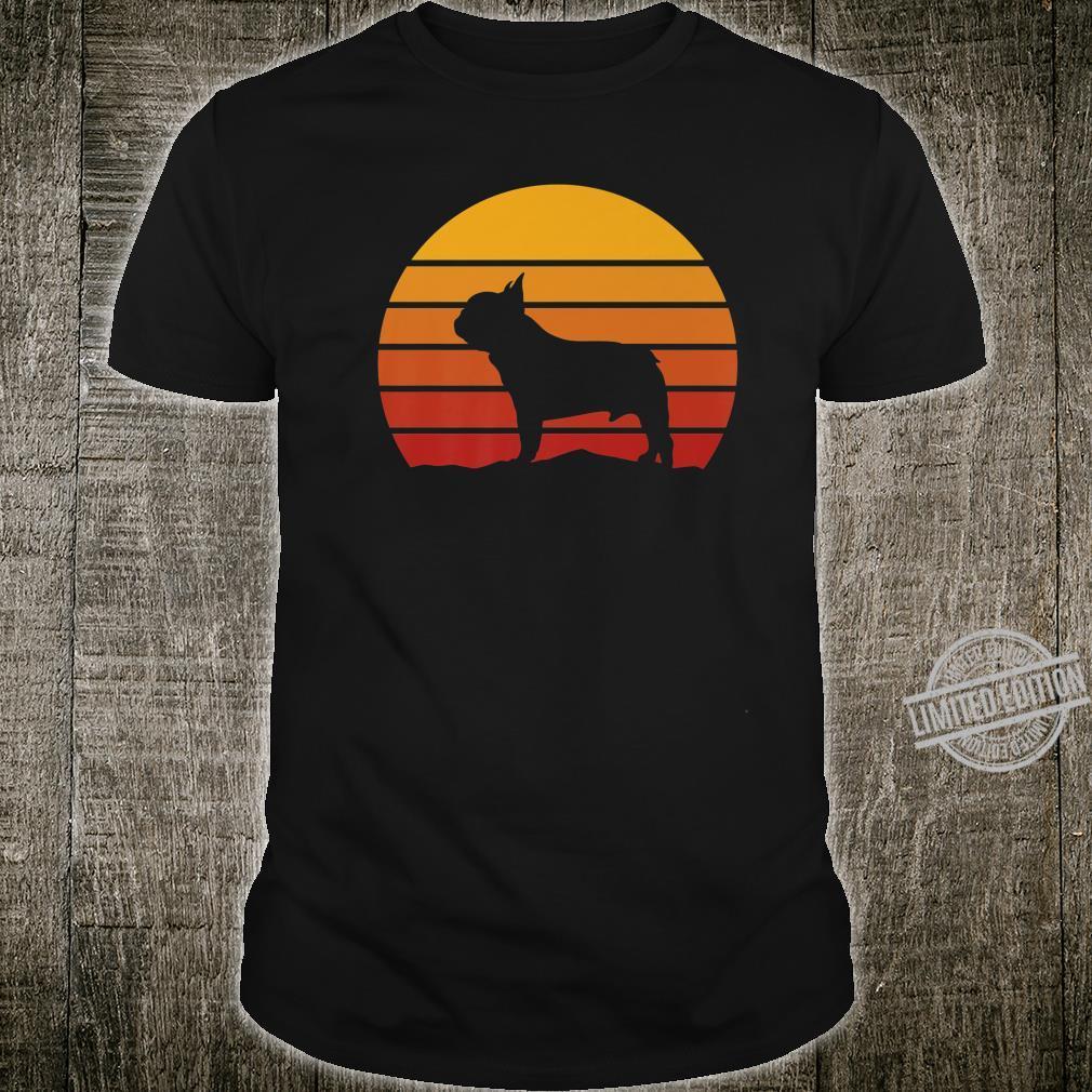 French Bulldog Vintage Dog Owner Love Puppy Cute Pet Shirt