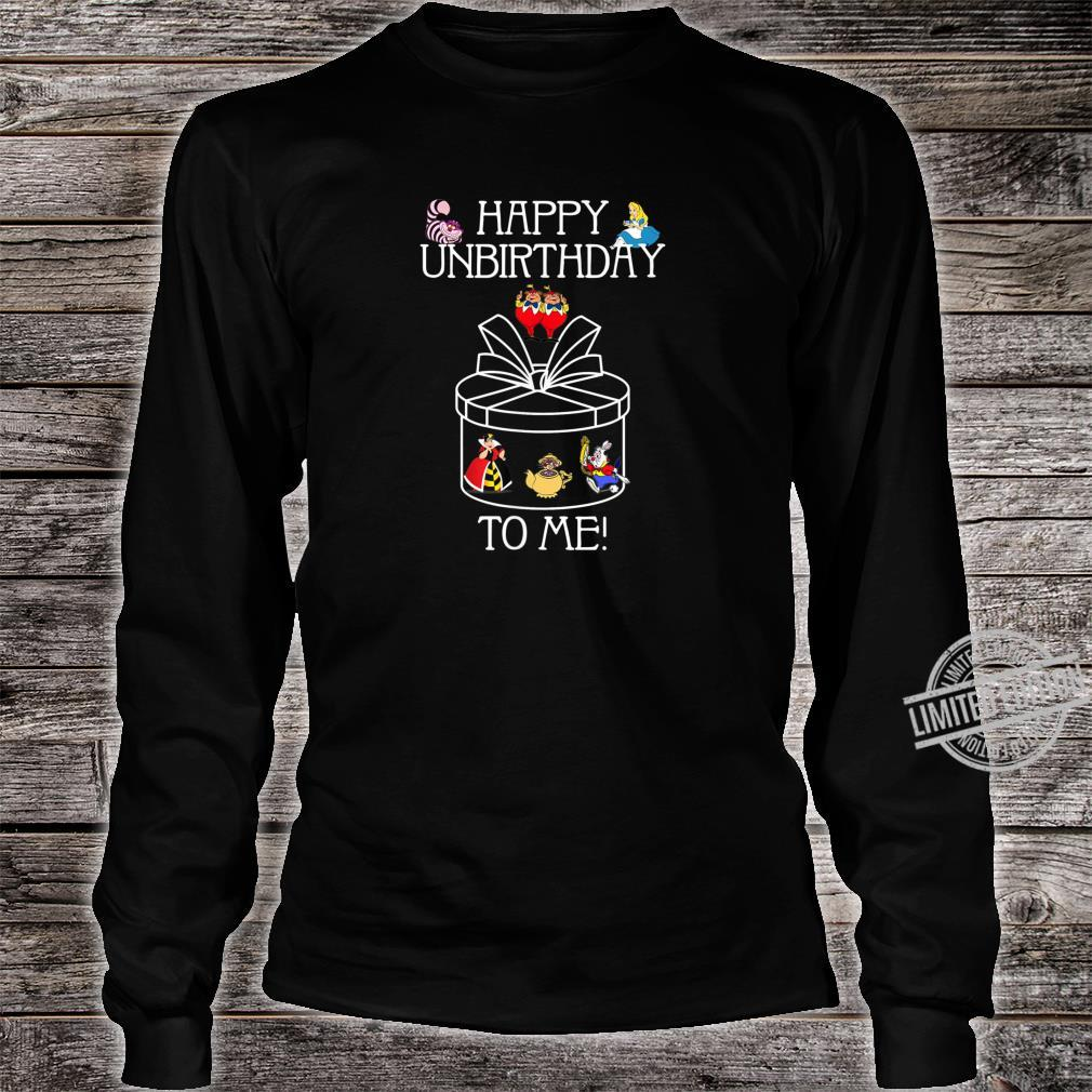 Funny Alice In Wonderland Happy Unbirthday Tea Party Fans Shirt long sleeved