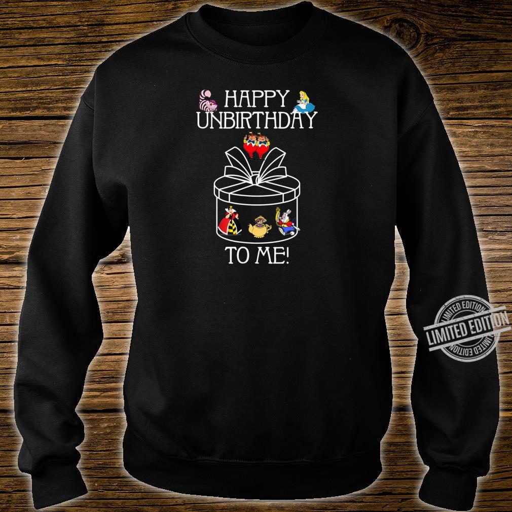 Funny Alice In Wonderland Happy Unbirthday Tea Party Fans Shirt sweater