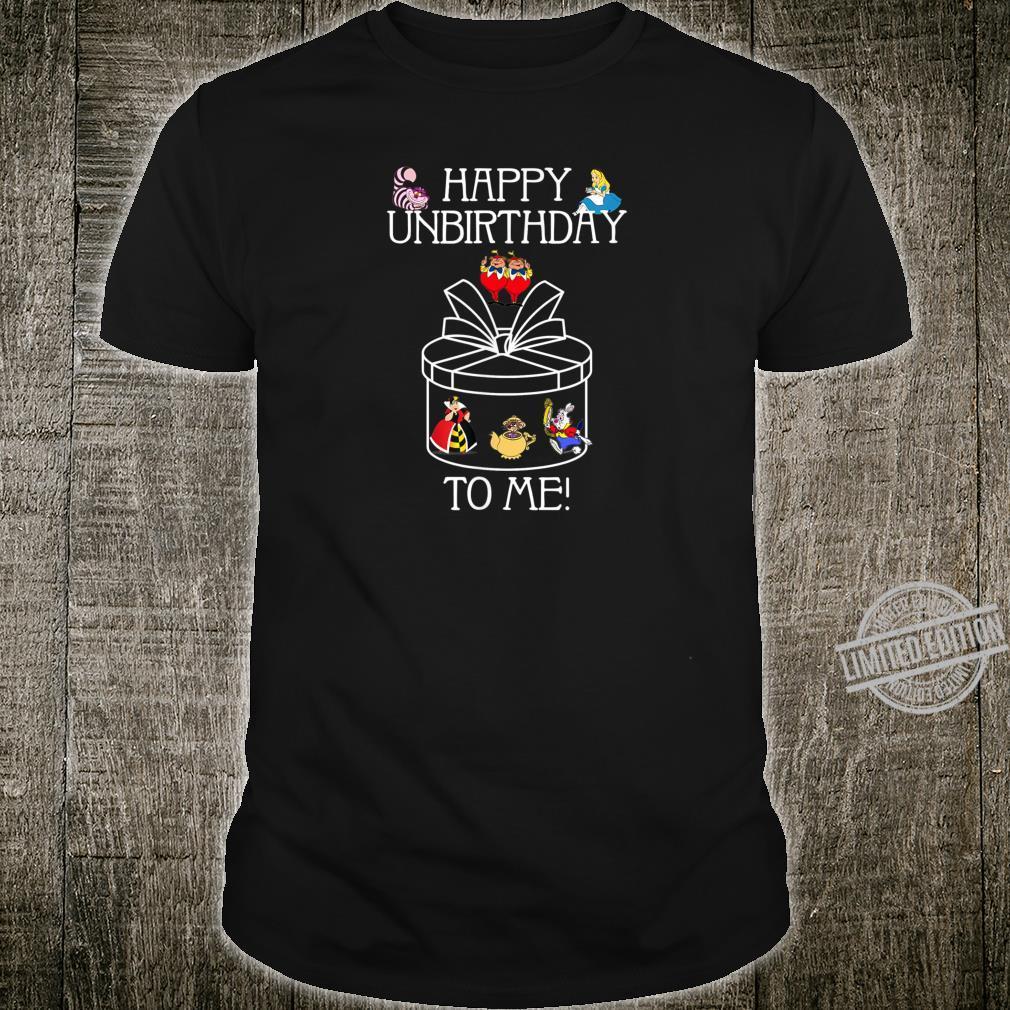 Funny Alice In Wonderland Happy Unbirthday Tea Party Fans Shirt