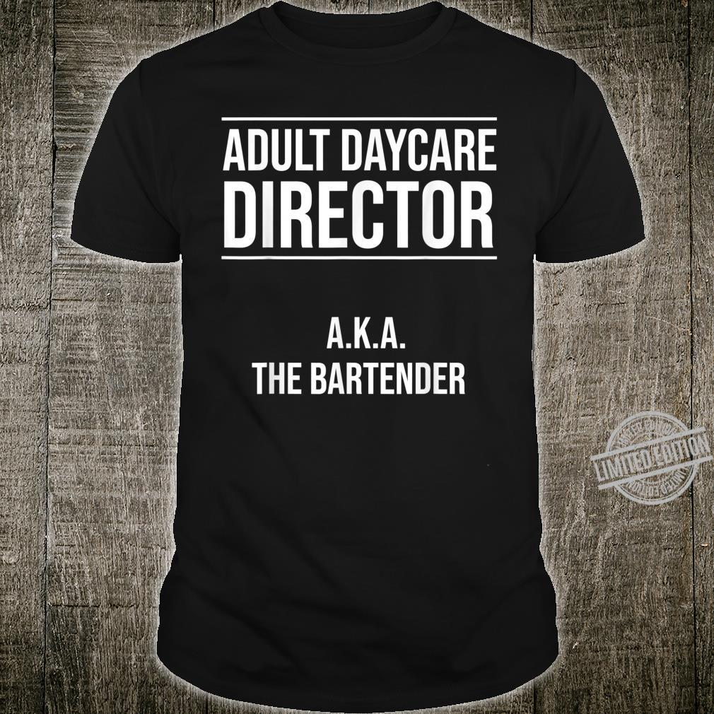Funny Bartender Cool Daycare Mixologist Shirt