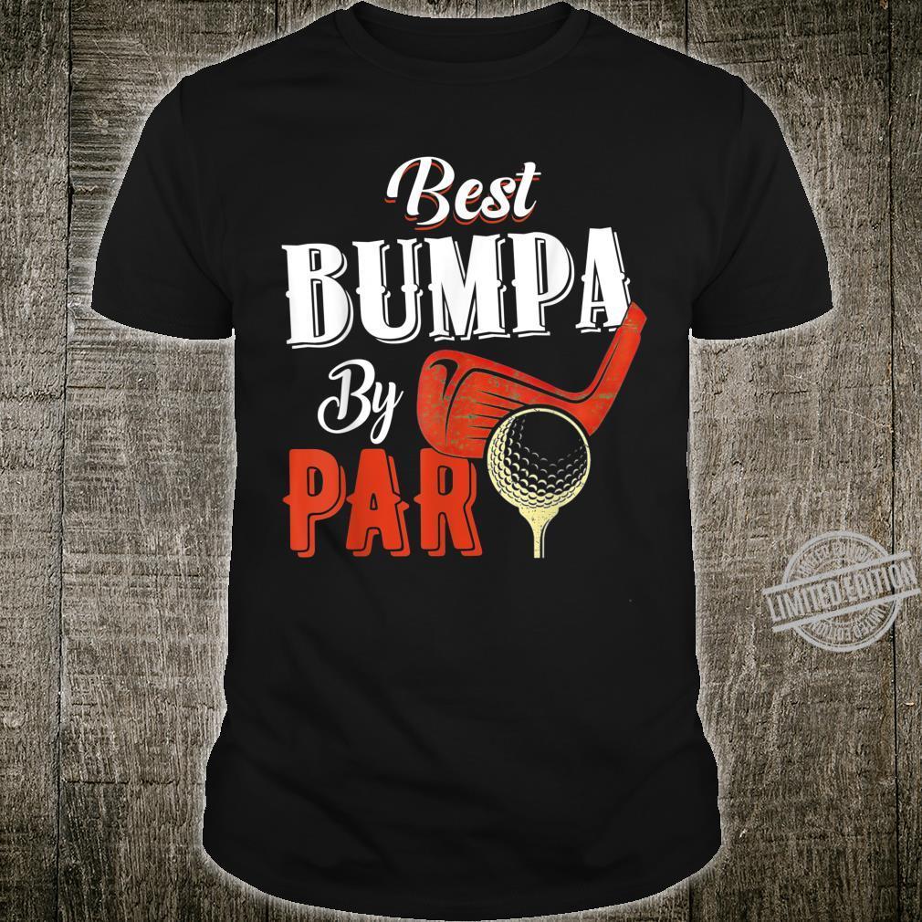 Funny Best Bumpa By Par Father's Day Golf Shirt Shirt