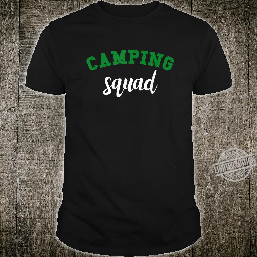 Funny Camping Squad Camper Shirt