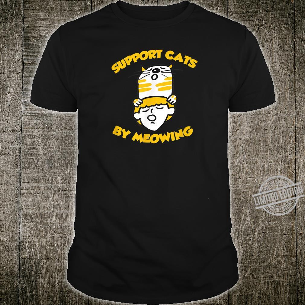 Funny Cat Cute Kitten Paw Novelty Saying Shirt