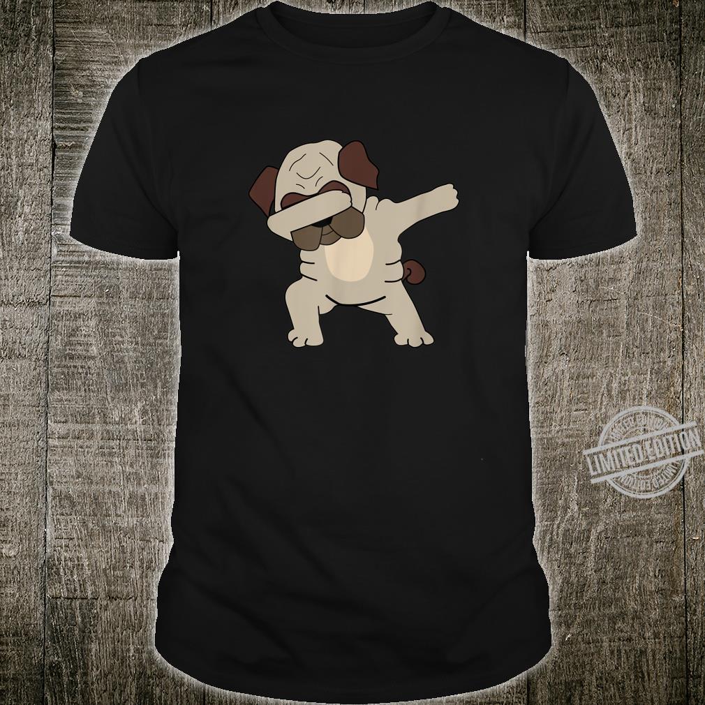 Funny Cute Dancing Dog Pug Shirt