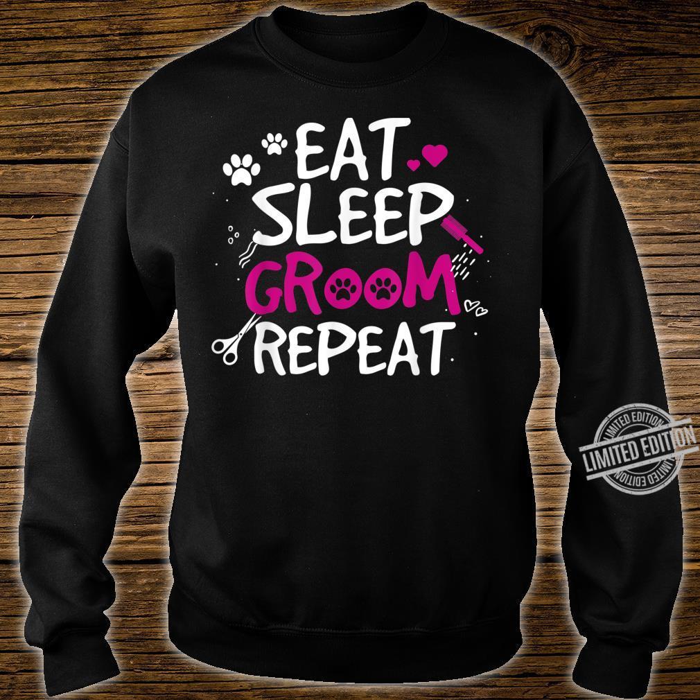 Funny Design for Dog Salon Owner Shirt sweater
