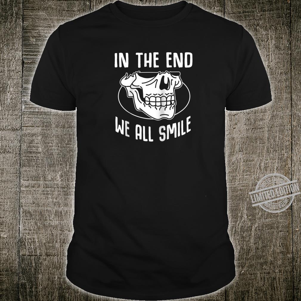 Funny Grim Reaper Satanic Hail Satan Occult Shirt