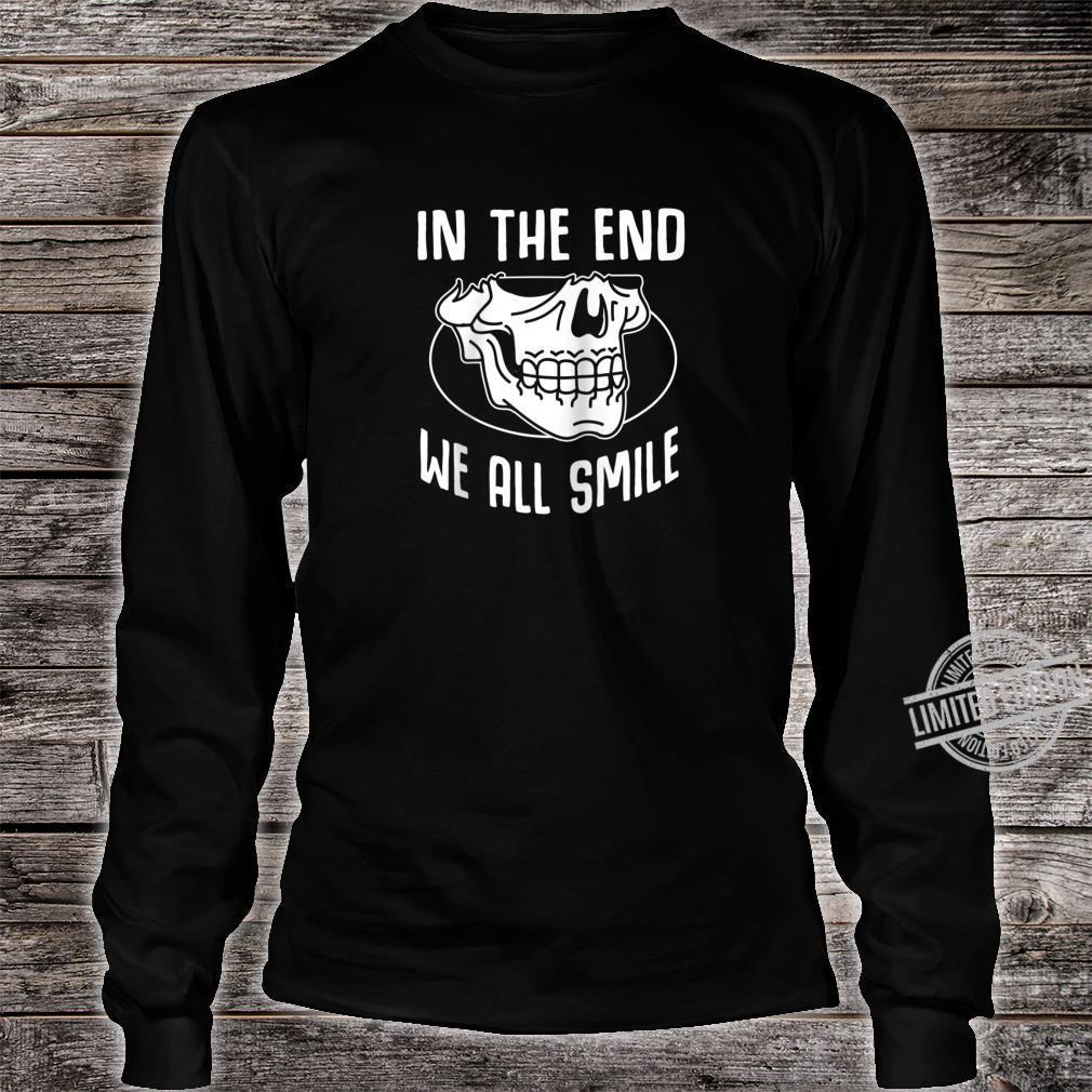 Funny Grim Reaper Satanic Hail Satan Occult Shirt long sleeved