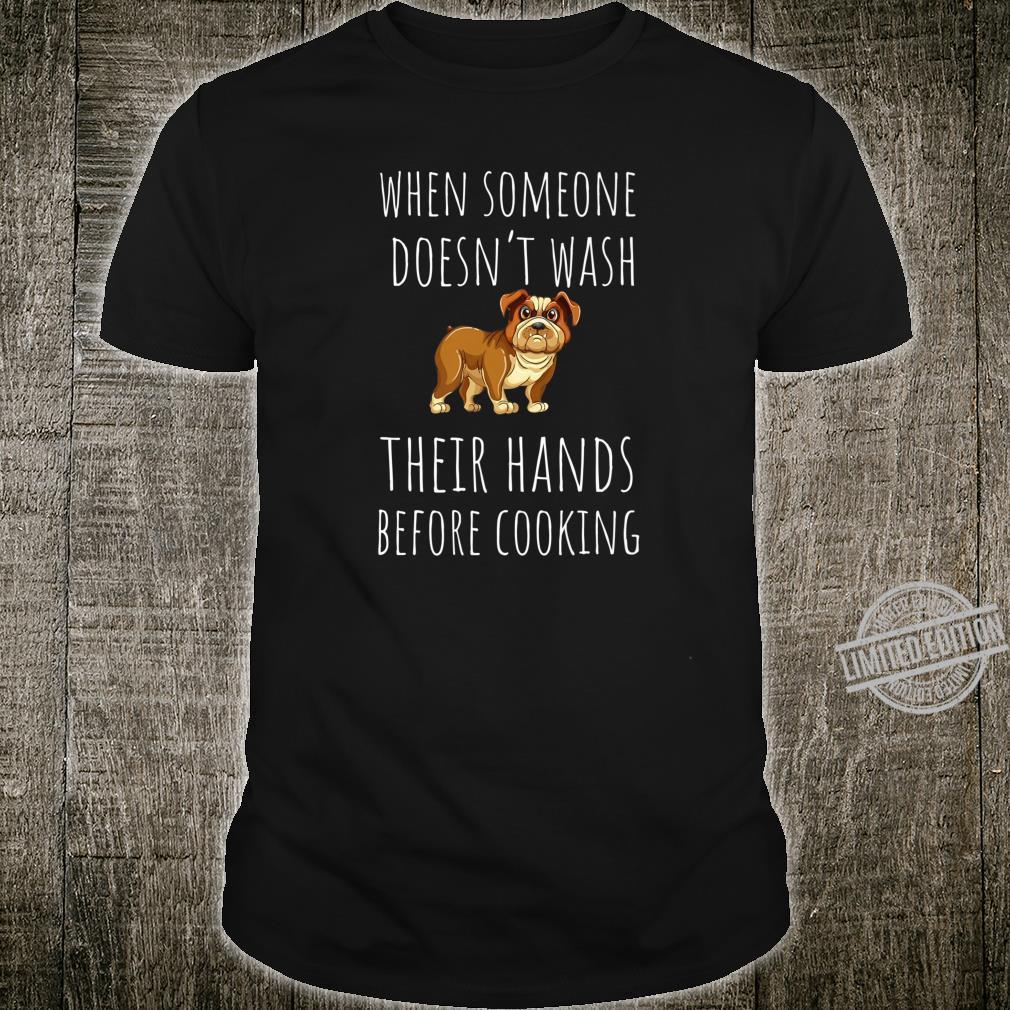 Funny Hand Washing Shirt Anti Germs Dog Meme Saying Shirt