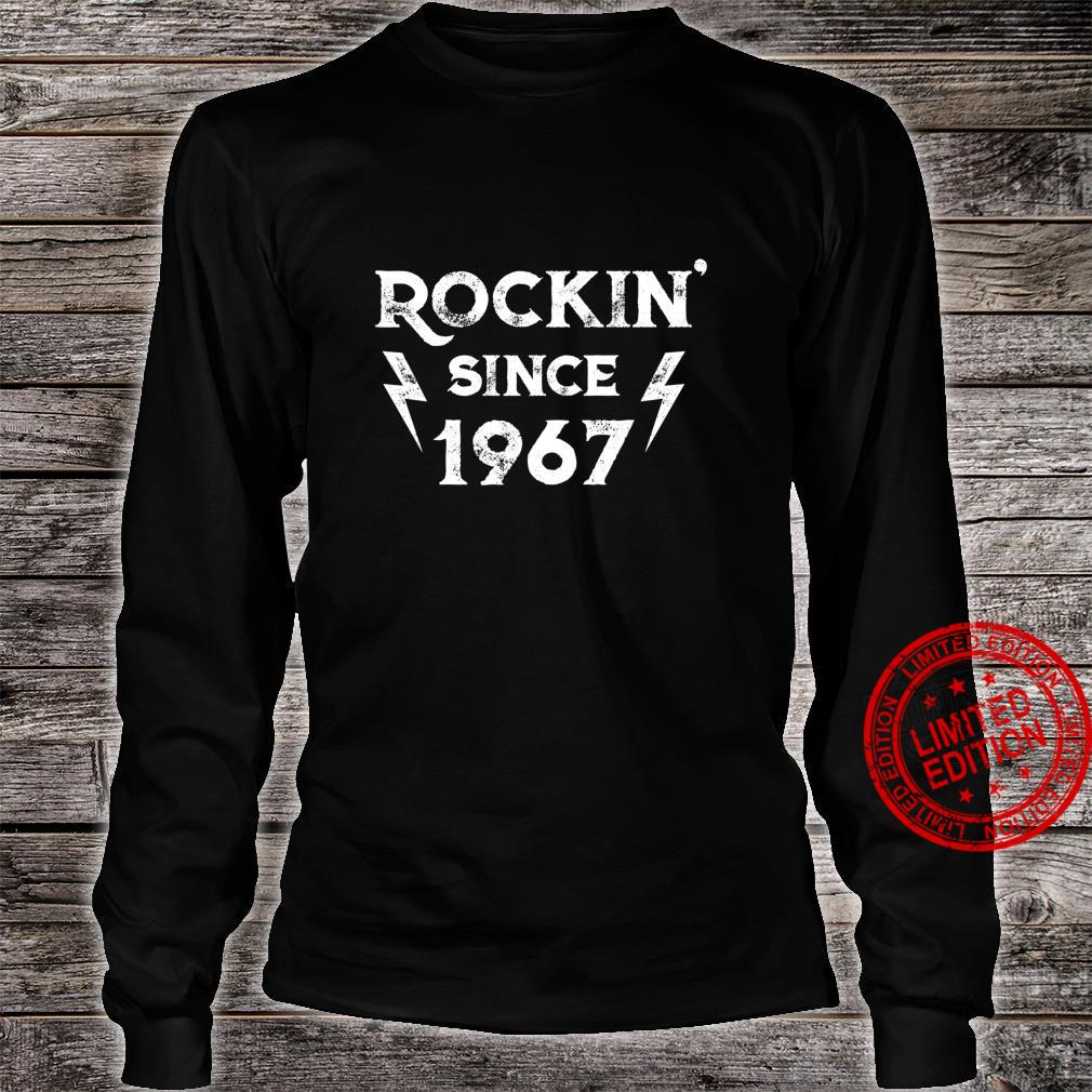 Gift for 53 Year Old Classic Rock 1967 53rd Birthday Shirt long sleeved