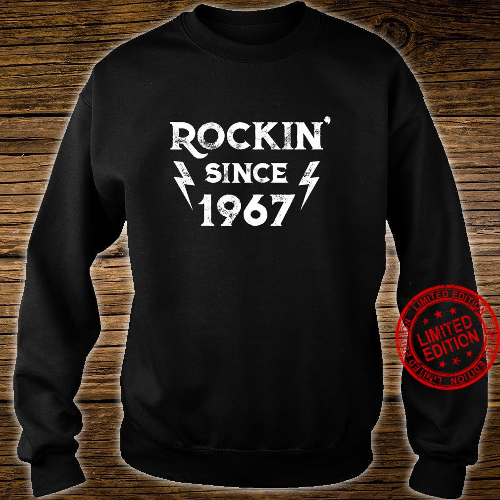 Gift for 53 Year Old Classic Rock 1967 53rd Birthday Shirt sweater