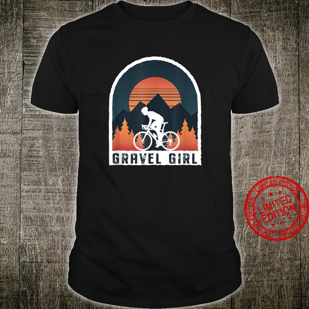 Gravel Bike Rennrad Gravel Girl Cyclocross Radler Shirt