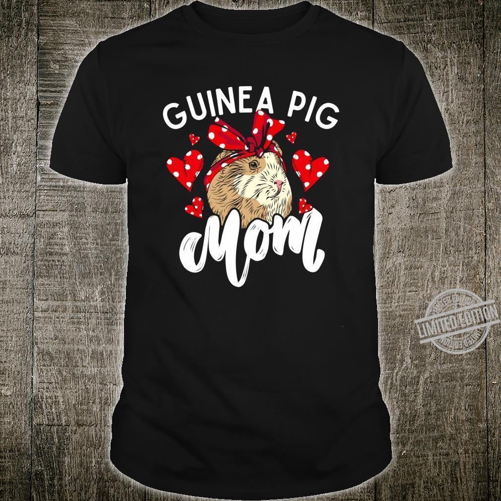 Guinea Pig Mom Red Bandana Cute Costume Pet Shirt