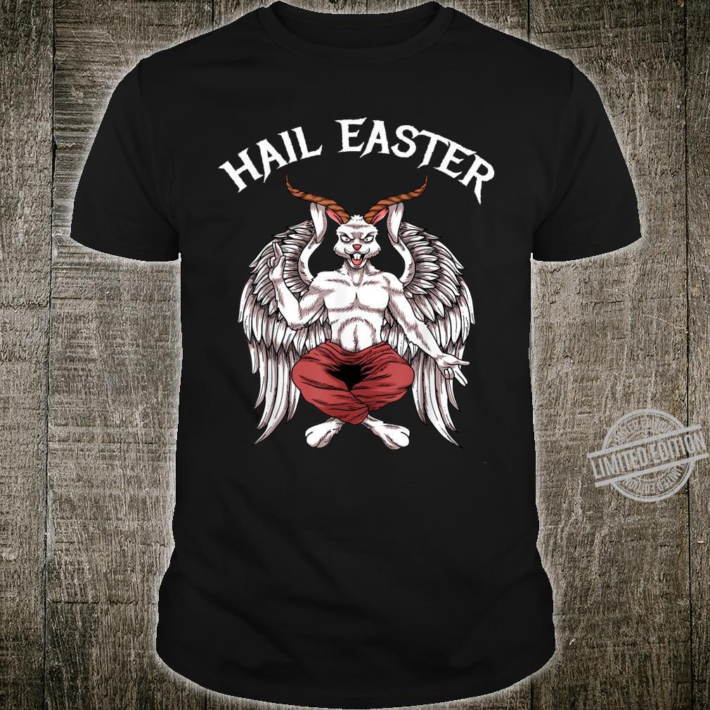 Hail Easter Baphomet Lucifer Shirt 666 Satanism Hail Satan Shirt