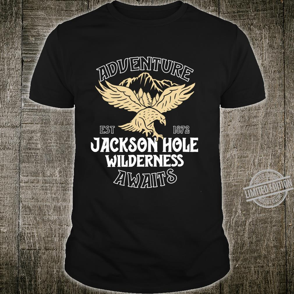 Jackson Hole Eagle Wyoming Park Adventure Awaits Shirt
