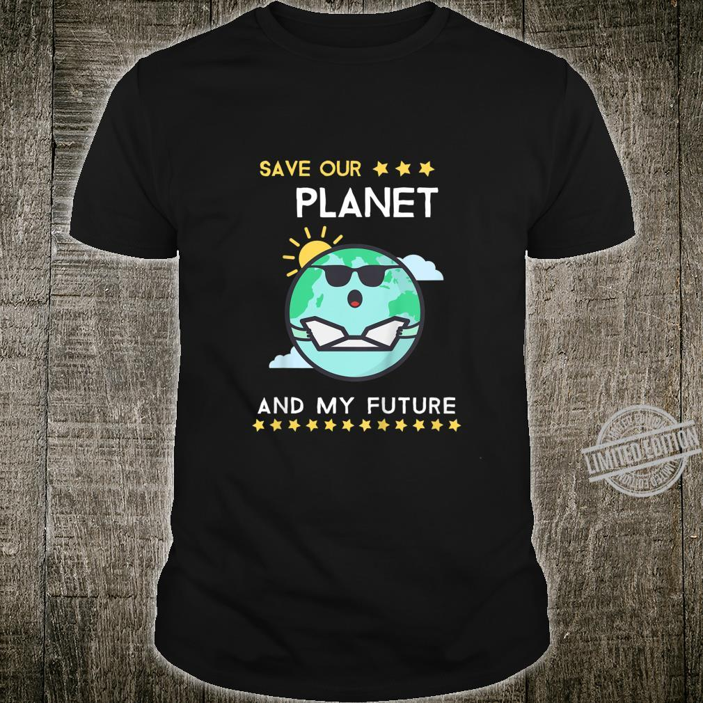 Kids Earth Day 2020 Climate Change Activism Shirt