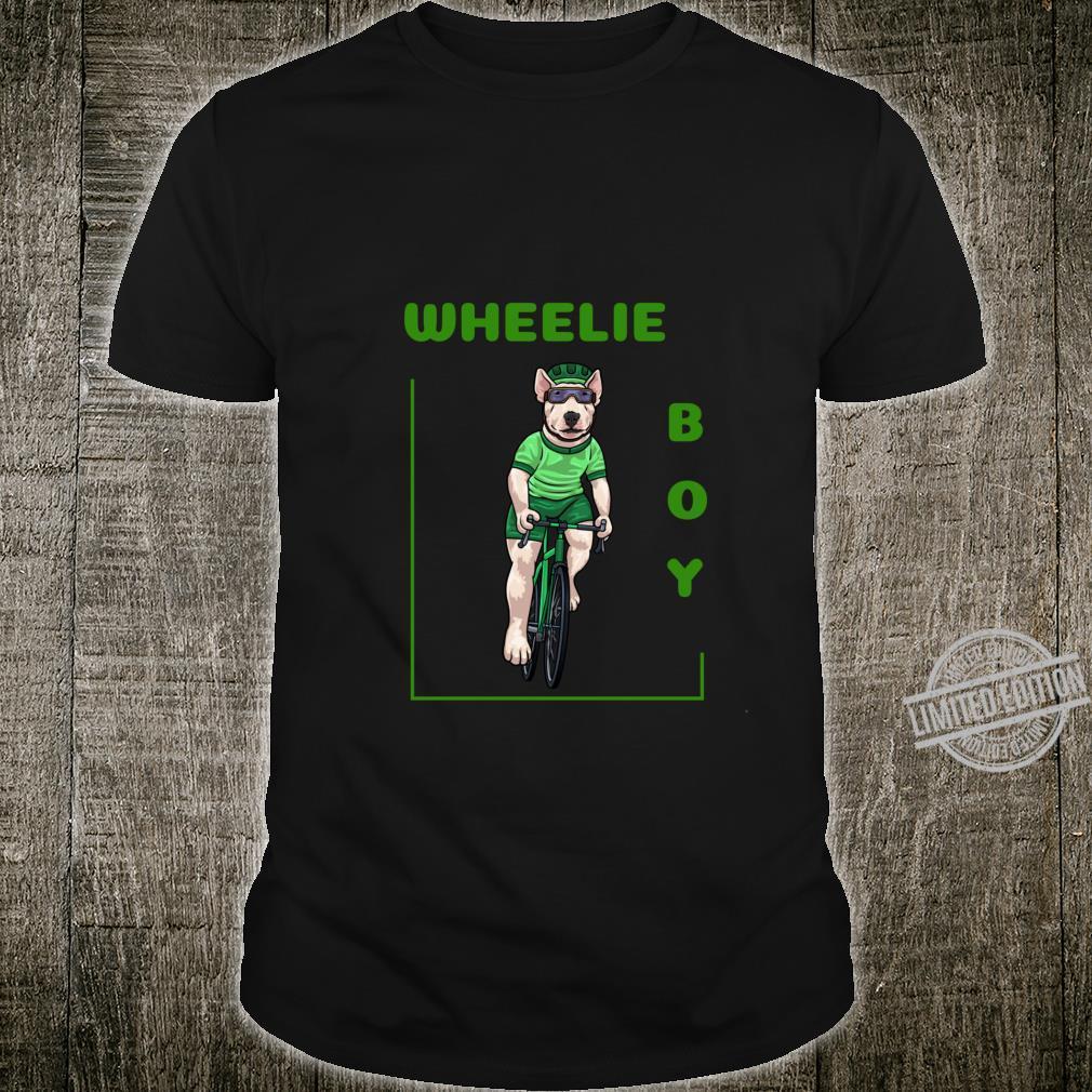 Lolamart Cycling Wheelie Boy Green Jersey Bike Bicycle MTB Shirt