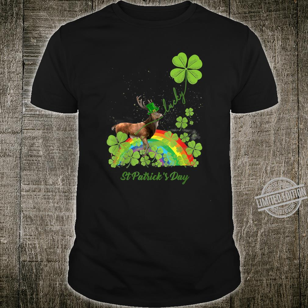 Lucky Moose Shamrock St Patrick's Day Shirt