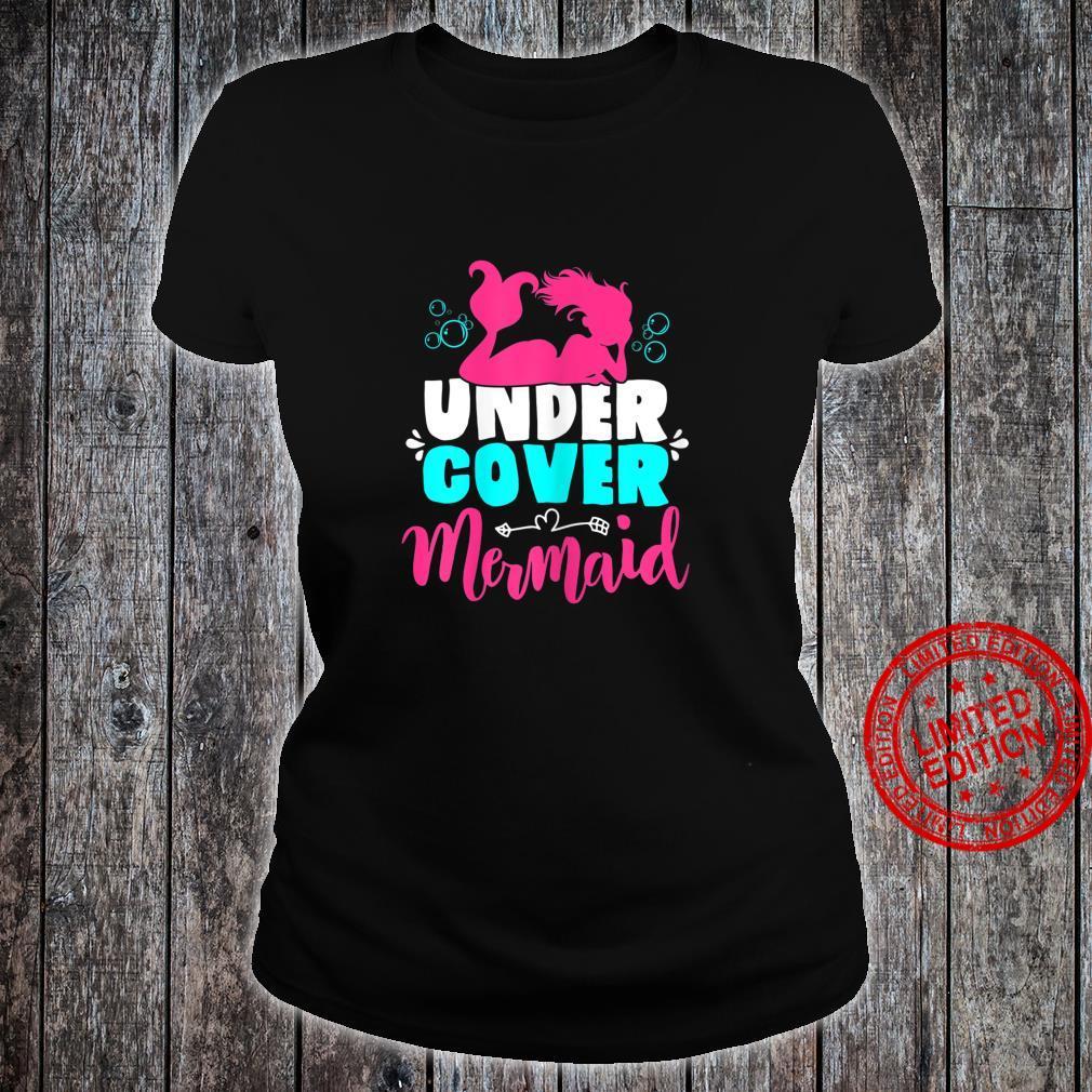 Meerjungfrau Kostüm für Mädchen und Frauen Geschenk Shirt ladies tee