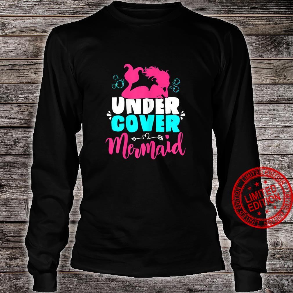 Meerjungfrau Kostüm für Mädchen und Frauen Geschenk Shirt long sleeved