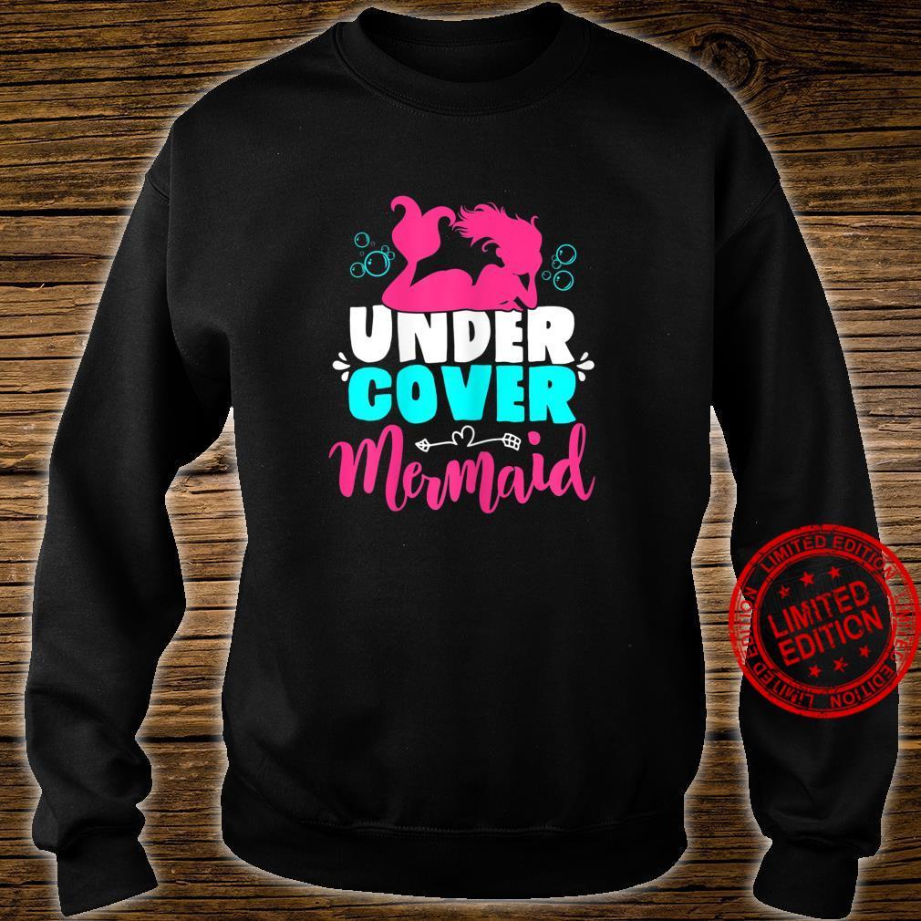 Meerjungfrau Kostüm für Mädchen und Frauen Geschenk Shirt sweater