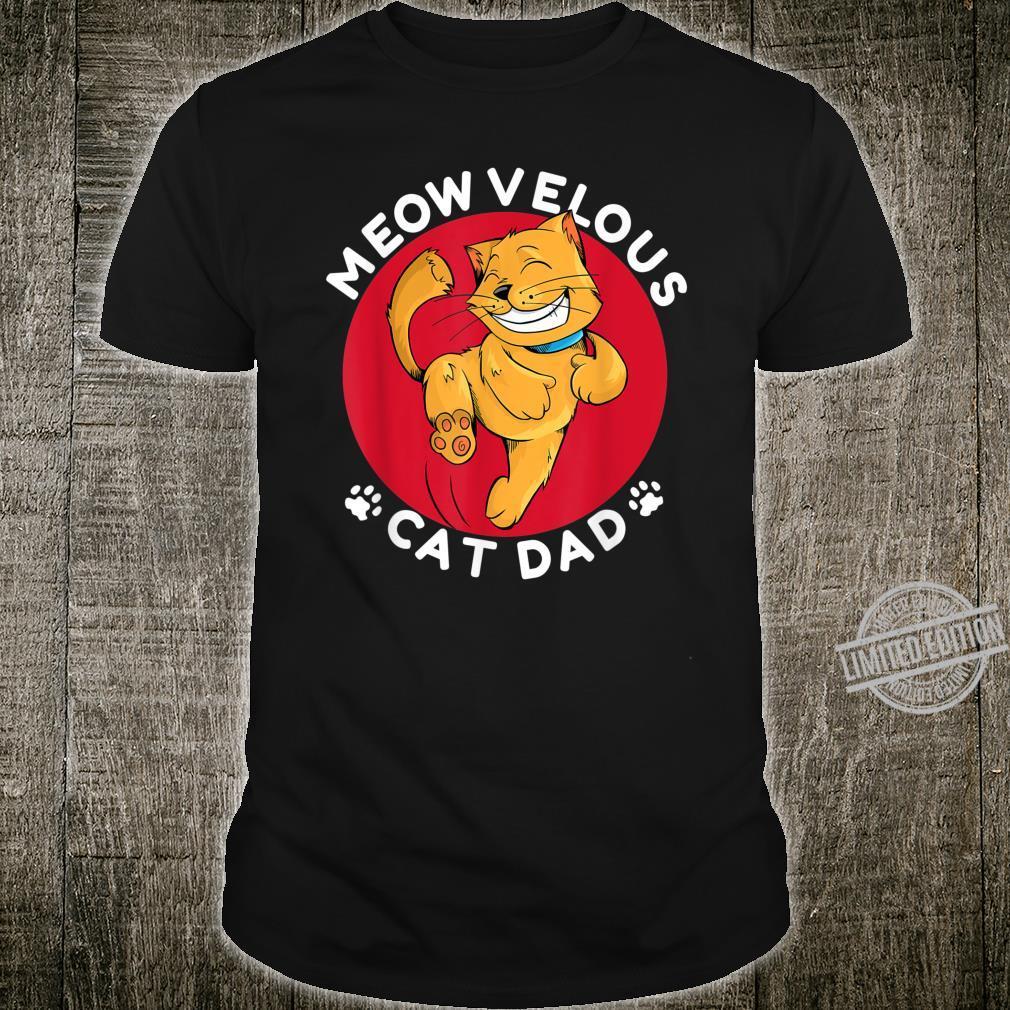 Meow Cat Shirt Meowvelous Cat Dad Shirt