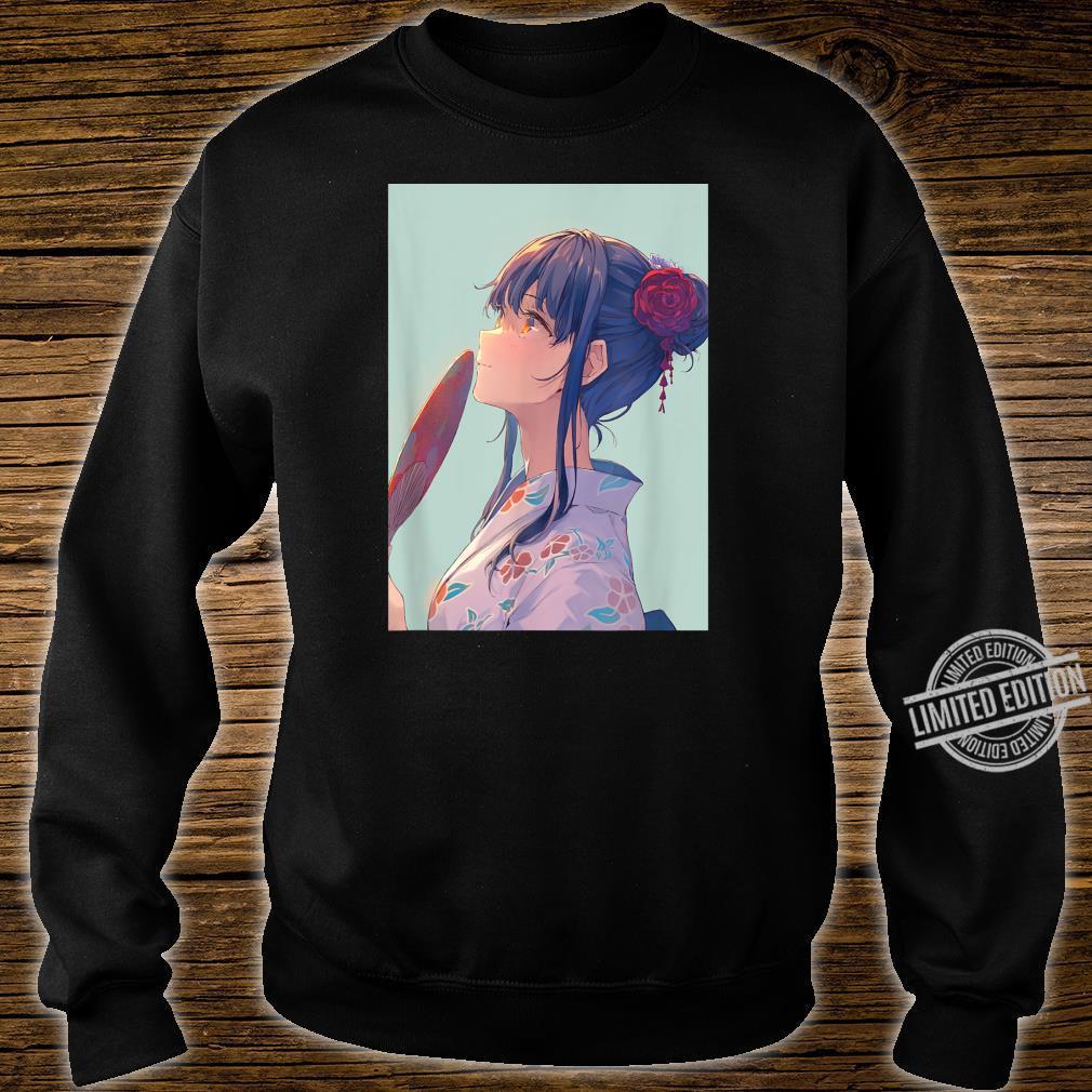 Pastel Aesthetic Anime Shirt Kawaii Japanese Anime Girl Shirt sweater