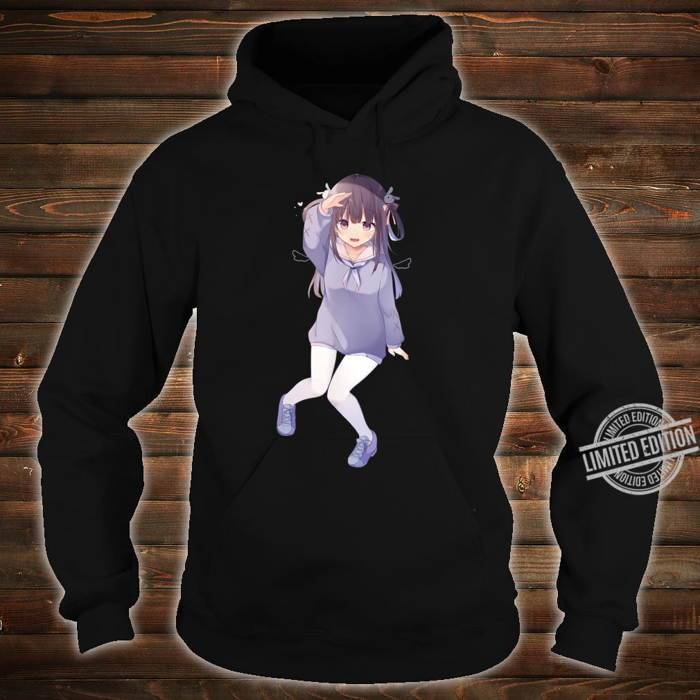 Pastel Kawaii Anime Girl Shirt Cute Chibi Anime Girl Shirt hoodie