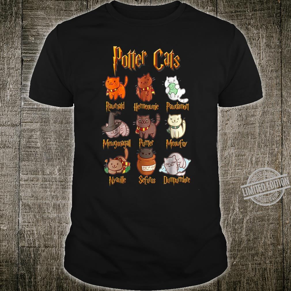 Potter Cats For Cats Shirt
