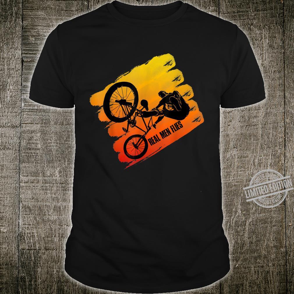 Real Flies idea for cool flying Bmx & Mtb Biker Shirt