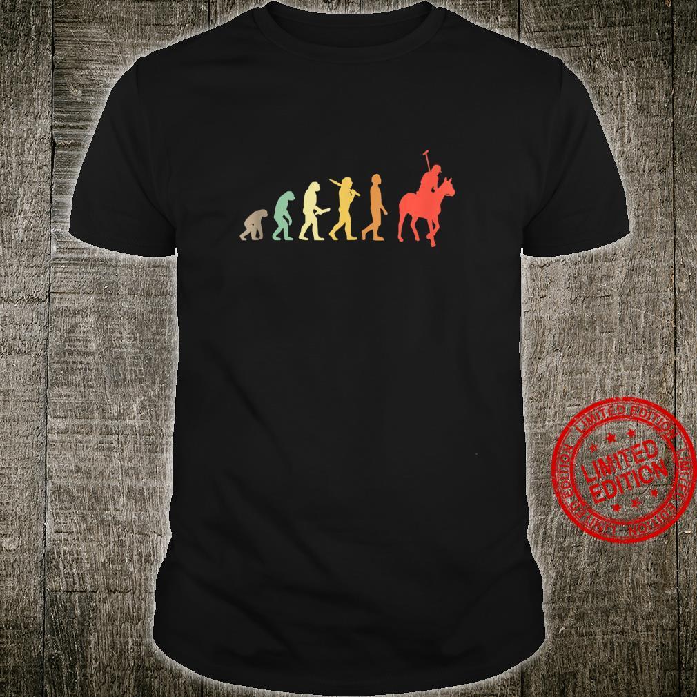 Retro Horse Polo Evolution For Polo Players Shirt