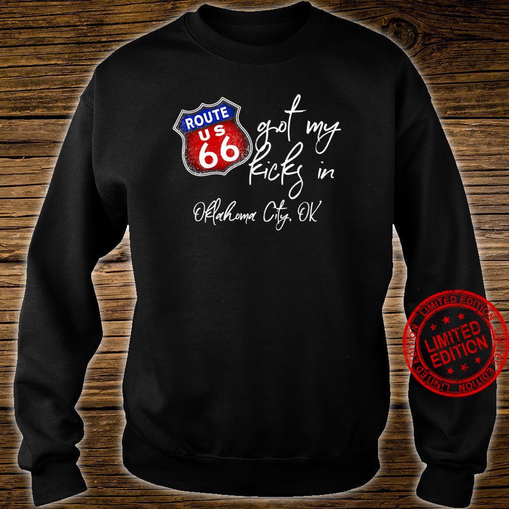 Route 66 Got My Kicks In Oklahoma City OK Souvenir Shirt sweater
