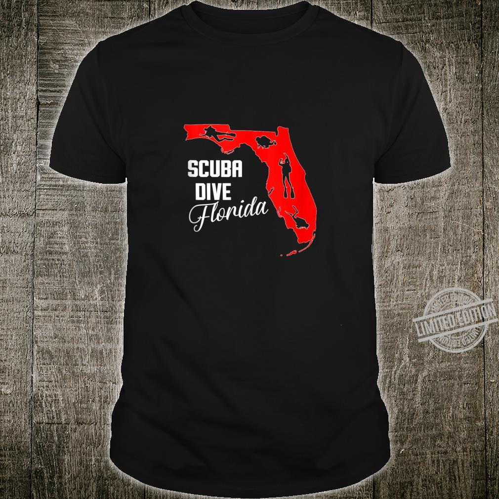 Scuba diving Freediving the state of Florida USA Shirt