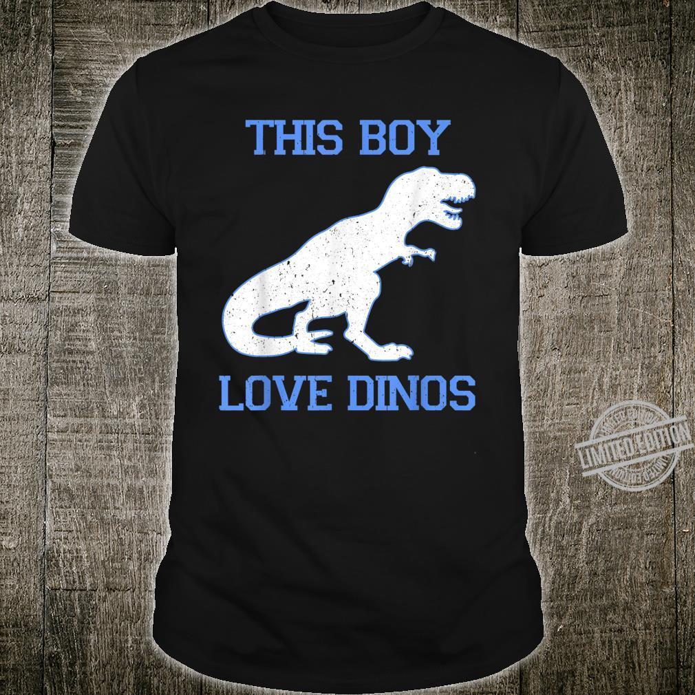 This Boy Love Dinos Vintage Shirt