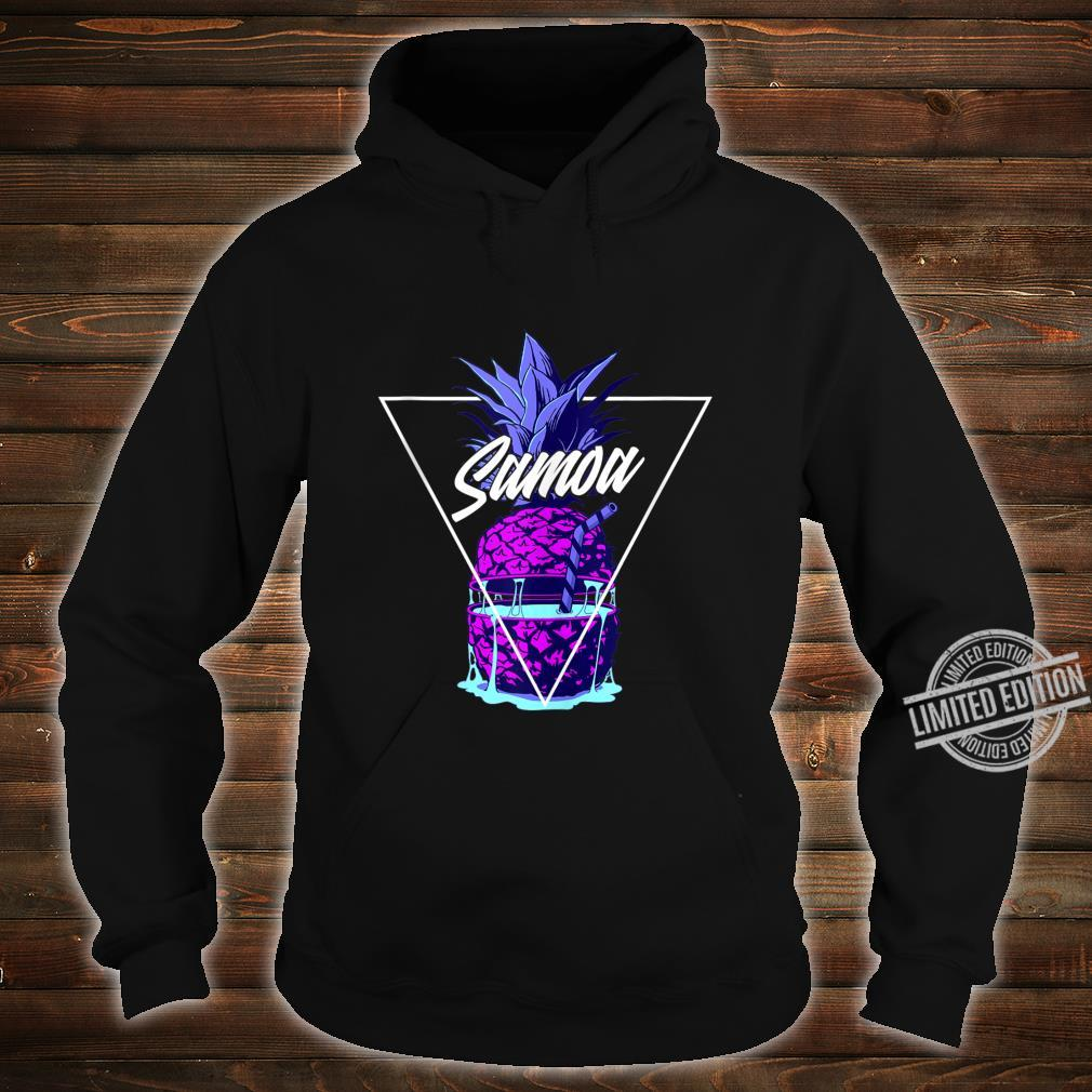 Tropical Pineapple Samoa Shirt hoodie