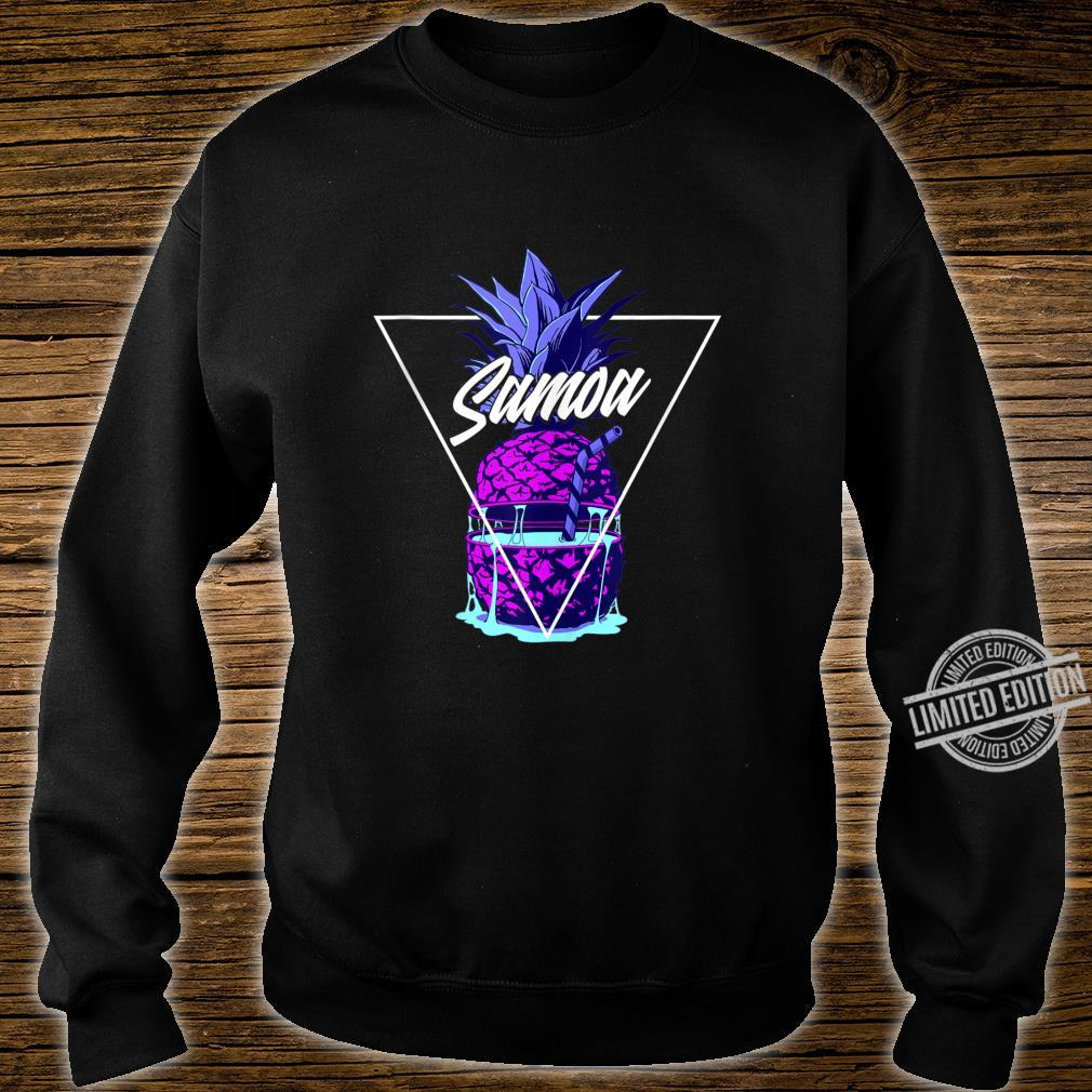 Tropical Pineapple Samoa Shirt sweater
