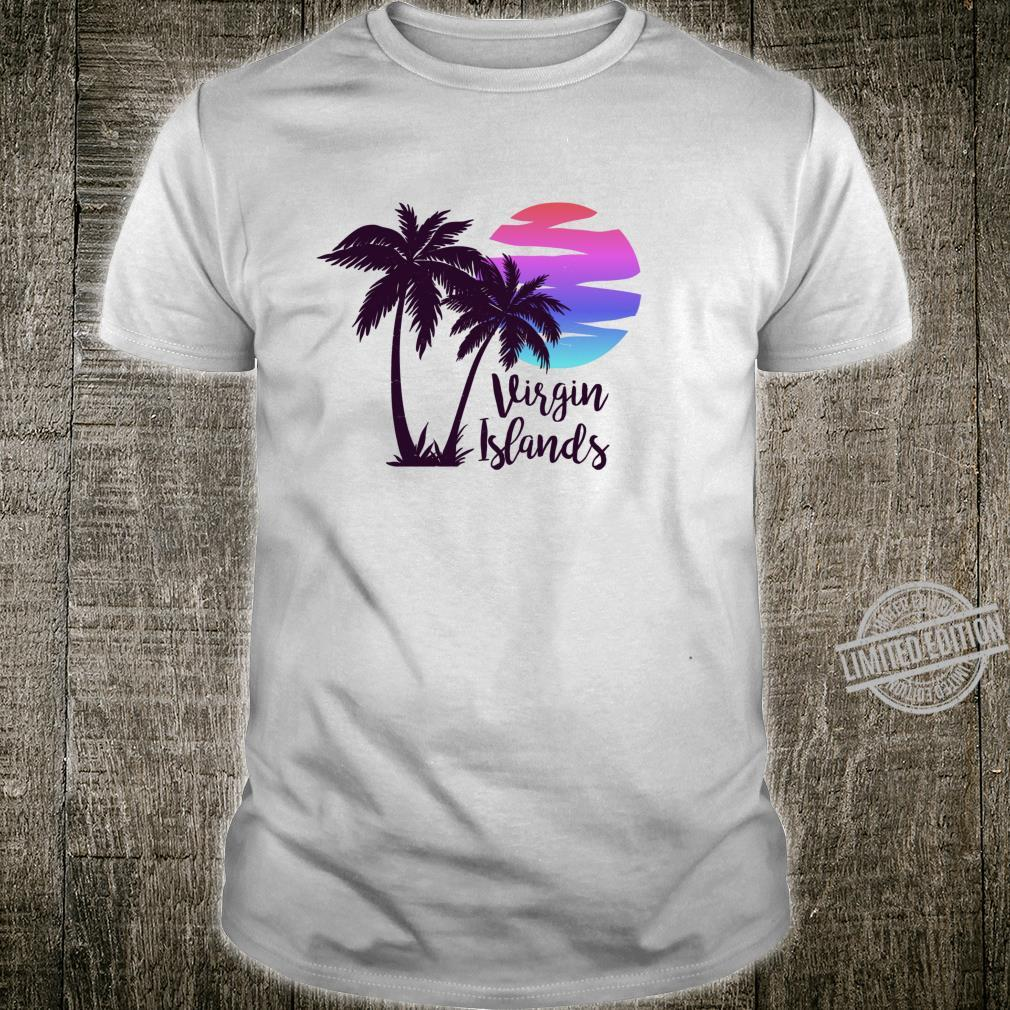 VIRGIN ISLANDS Family Beach Vacation Spring Break Honeymoon Shirt
