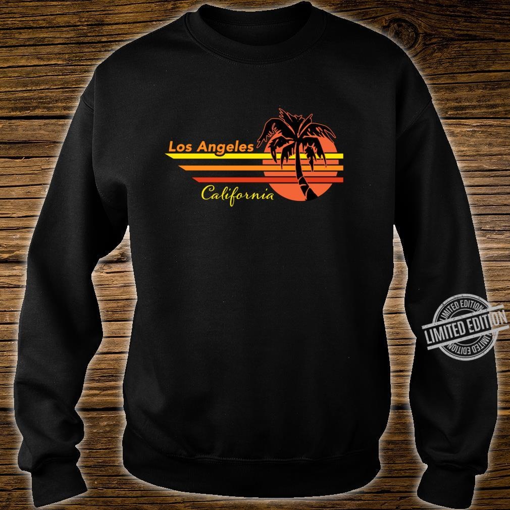 Vintage Los Angeles California Sunset and Palm Tree Souvenir Shirt sweater