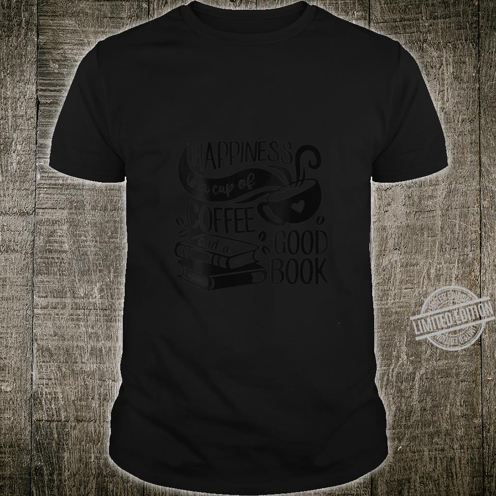 Womens Book Shirt Cute Coffee Ladies Reading Shirt